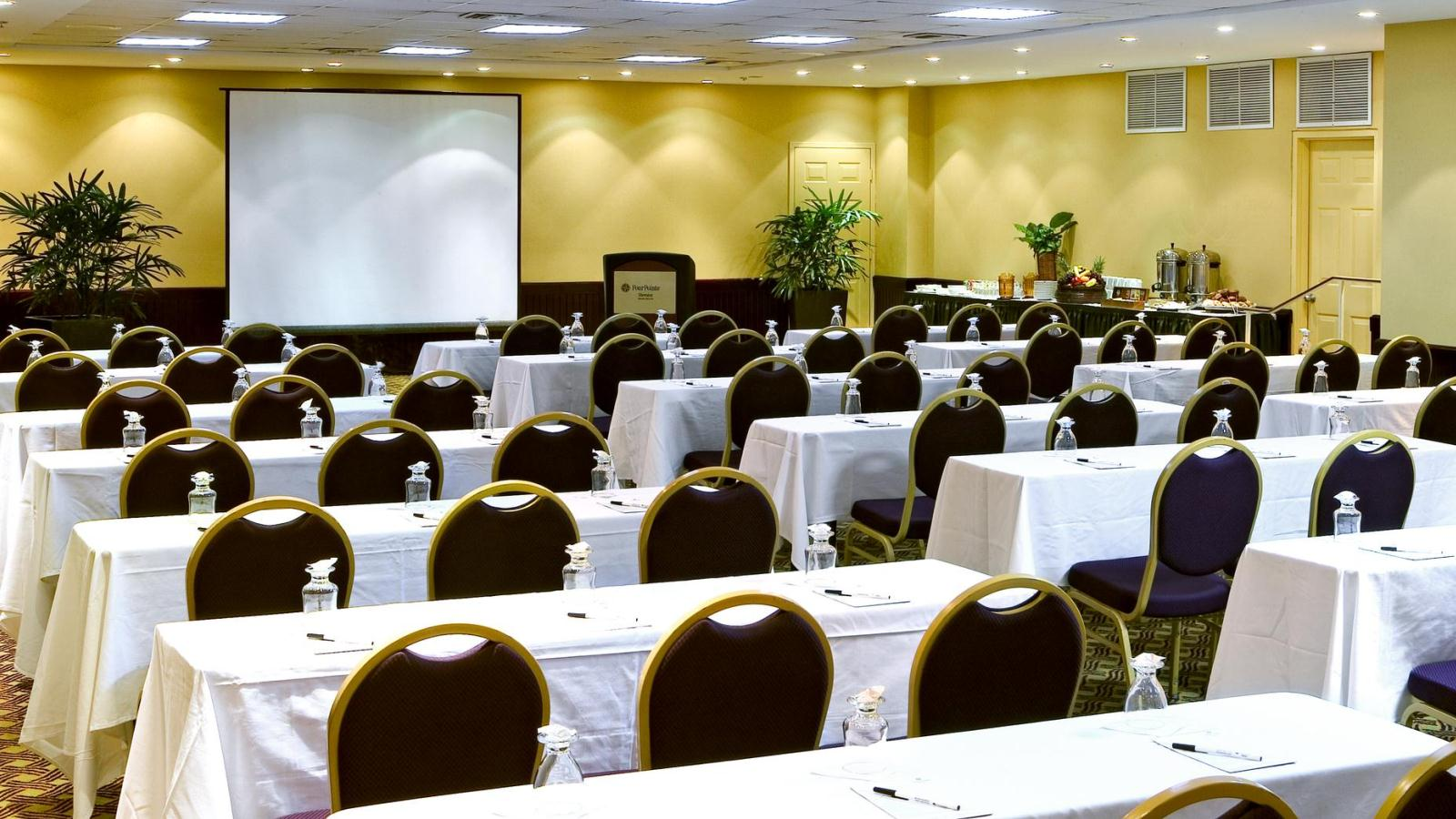 Miami Beach Meeting Rooms - Classroom Setup