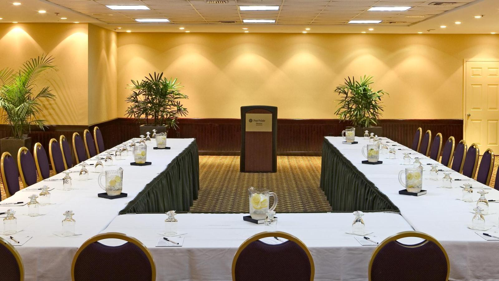 Miami Beach Meeting Rooms - Boardroom Setup